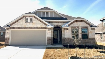 Comal County Single Family Home New: 882 Serene Hills