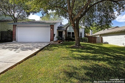 Bexar County Single Family Home Back on Market: 8515 Serene Ridge Dr