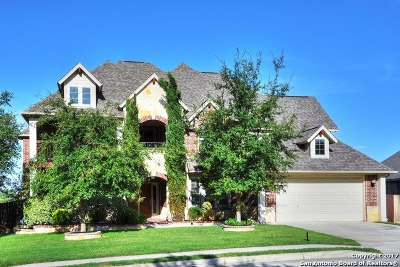 Bexar County Single Family Home New: 15918 Watchers Way