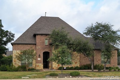 Bexar County Single Family Home New: 27759 Recanto