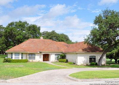 Boerne Single Family Home New: 29362 Duberry Rdg
