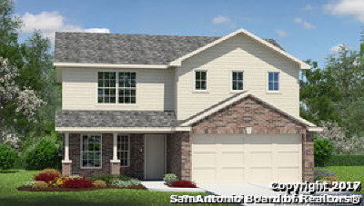 San Antonio Single Family Home New: 8011 Radiant Sunset