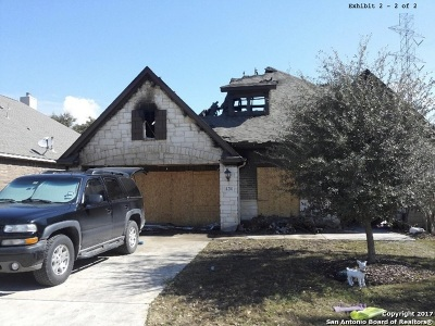 Bexar County, Medina County Single Family Home Price Change: 11211 Thorn Apple