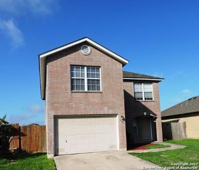 Bexar County Single Family Home New: 6603 Flatstone Pass