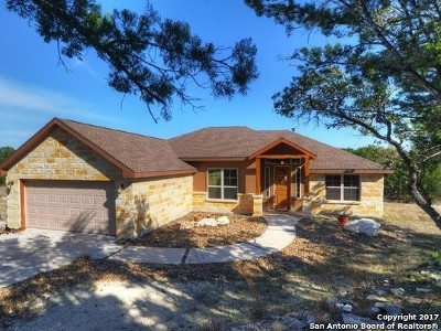 Comal County Single Family Home New: 654 Monarch