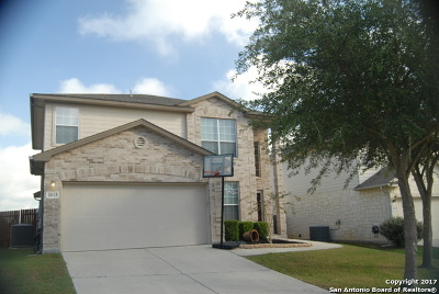 Schertz Single Family Home New: 2613 War Admiral