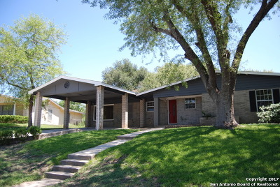San Antonio Single Family Home New: 114 Colebrook Dr