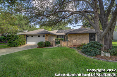 Bexar County Single Family Home New: 10243 Grand Meadow Dr
