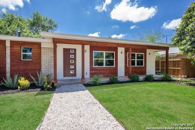 San Antonio Single Family Home New: 280 Lorenz Rd