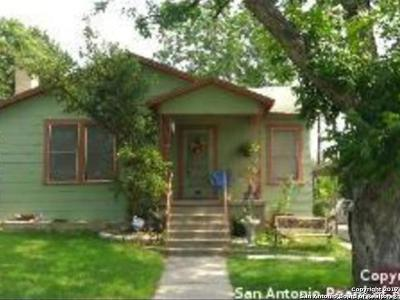 San Antonio Single Family Home For Sale: 113 Leming Dr