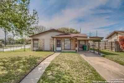 San Antonio Single Family Home Price Change: 1815 Dellhaven Dr