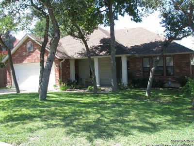 San Antonio Single Family Home New: 10534 Bluestone Crk