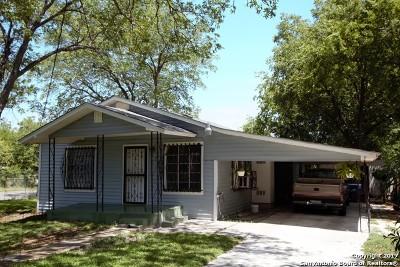 San Antonio Single Family Home For Sale: 574 San Ignacio Ave