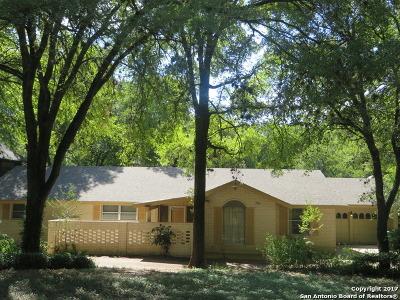 San Antonio Single Family Home New: 7211 Brookside St