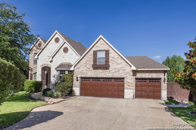 San Antonio Single Family Home New: 18818 Keegans Blf