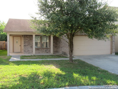 San Antonio Single Family Home New: 4834 Heather Pass
