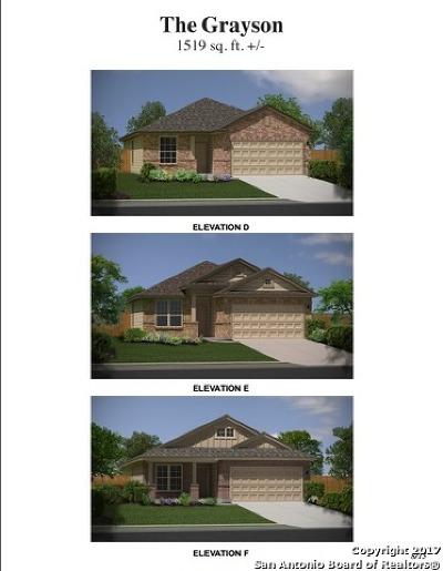 San Antonio Single Family Home New: 9938 Belmore Cove