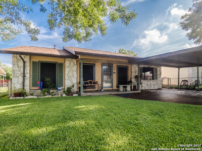 San Antonio Single Family Home New: 8739 Potlatch St