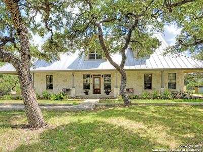 Boerne TX Single Family Home New: $750,000
