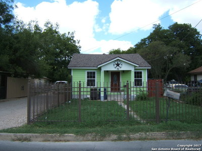 San Antonio Single Family Home New: 1529 Commerical Ave.