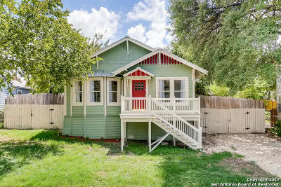 San Antonio Single Family Home New: 462 Natalen Ave