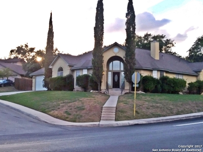 Bexar County Single Family Home Price Change: 1522 Perennial Dr