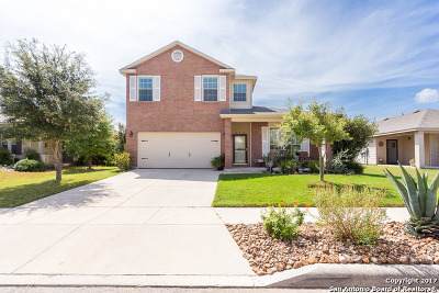 Schertz Single Family Home New: 216 Hawks Mdw