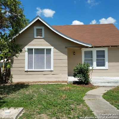 San Antonio Single Family Home New: 123 E Mayfield Blvd