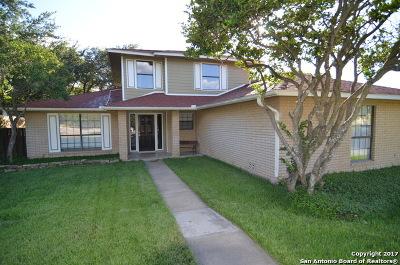 San Antonio Single Family Home New: 8015 Flamewood