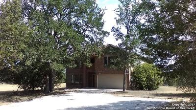Bandera Single Family Home For Sale: 254 Creekwood Dr