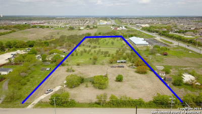 Schertz Residential Lots & Land For Sale: 1841 Wiedner Rd