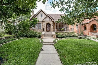 Bexar County Single Family Home Price Change: 347 E Huisache Ave