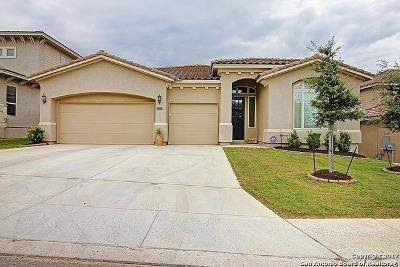 San Antonio Single Family Home Price Change: 2823 Winter Gorge