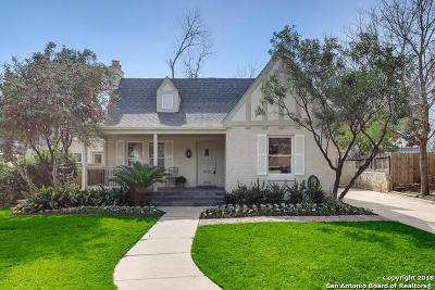 Olmos Park Single Family Home Price Change: 204 Primera Dr