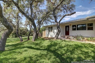 Helotes Single Family Home For Sale: 14207 Flying W Trl