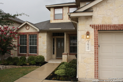 Bexar County Single Family Home Back on Market: 3627 Running Rnch