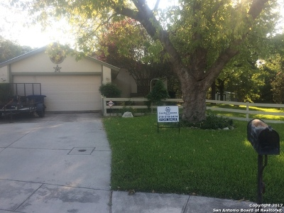 San Antonio Single Family Home Back on Market: 13403 Pebble Cir