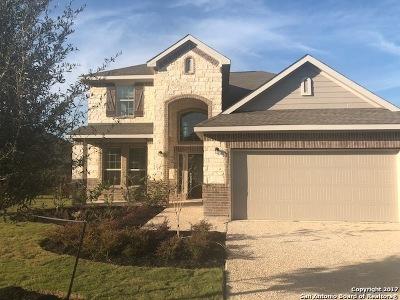 Bulverde Single Family Home Price Change: 31877 Cast Iron Cove