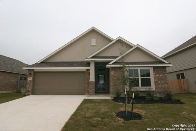 Guadalupe County Single Family Home For Sale: 537 Saddle Vista