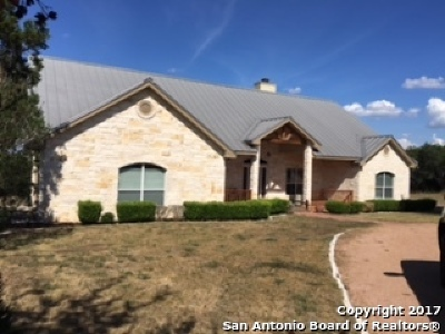 New Braunfels Single Family Home For Sale: 30760 Fm 3009