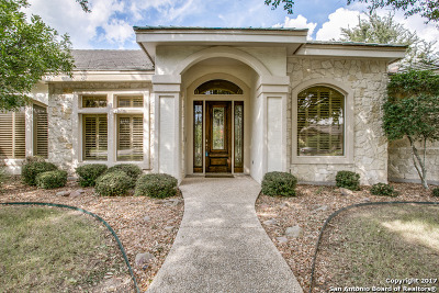 Boerne Single Family Home Back on Market: 29826 Fairway Vista Dr