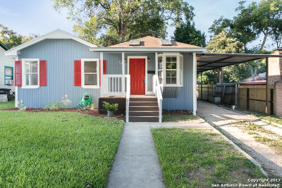 San Antonio Single Family Home For Sale: 2015 Schley Ave