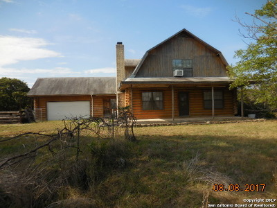 Pipe Creek Single Family Home For Sale: 974 Spring Rd