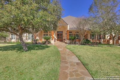 Boerne Single Family Home Active Option: 139 Park Ridge