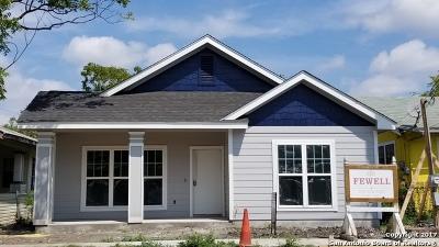 San Antonio Single Family Home For Sale: 1409 Burnet St