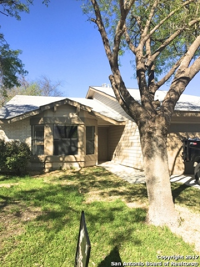 Bexar County Single Family Home Back on Market: 6919 Brecon Dr