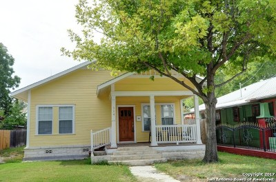 Bexar County Single Family Home For Sale: 514 E Laurel
