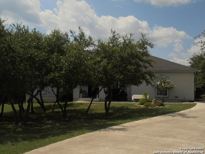 Canyon Lake TX Single Family Home For Sale: $338,000