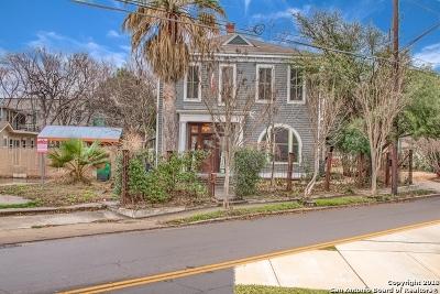 San Antonio Single Family Home For Sale: 1410 S Presa St