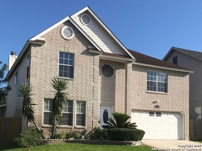 San Antonio Single Family Home For Sale: 6238 Higbee Ml